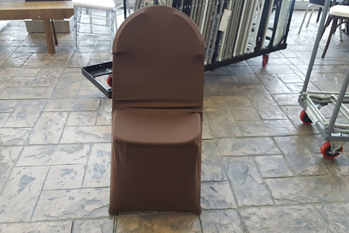 Fit Spandex Chair Covers - Brown