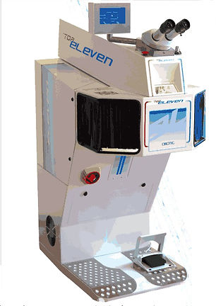 Top Eleven Series floor model laser welder
