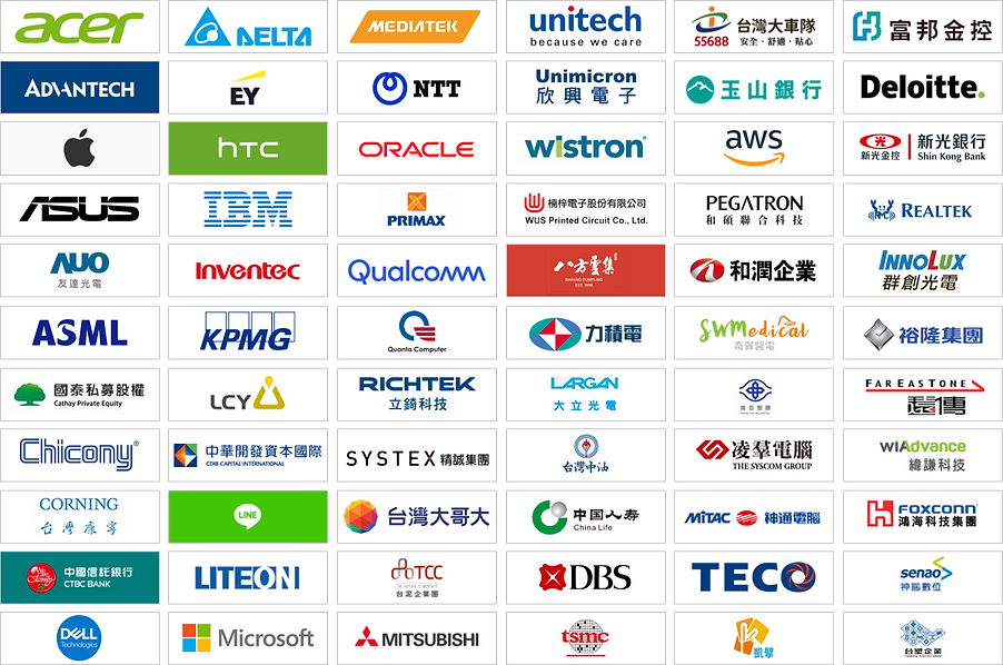 Over 200+ CXOs from leading Taiwanese companies.