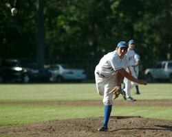 Garrett Delivers a Pitch