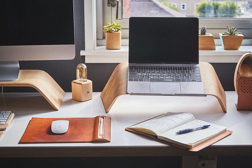 laptop and workstation at home - Psychology Today