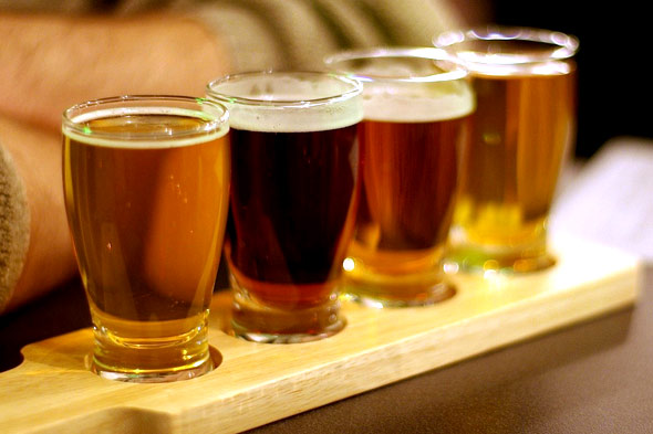 Beer & wine flights