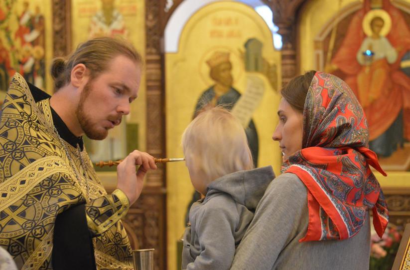 духовник воскресной школы отец Владимир