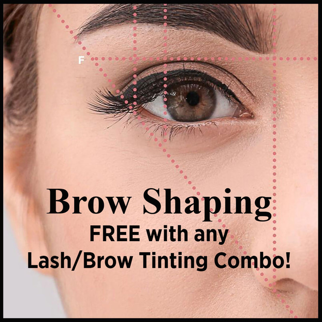 Brow Shaping ad