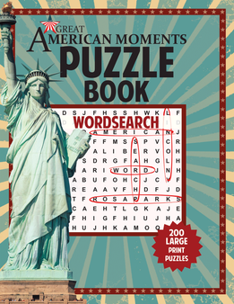 Great American Moments Puzzle Book