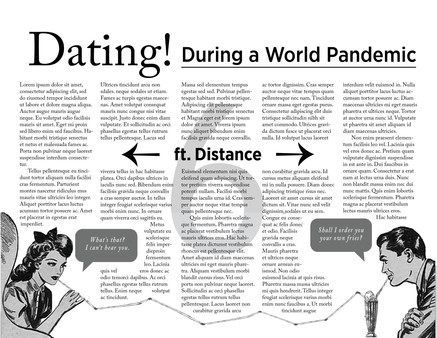 Dating! During a World Pandemic