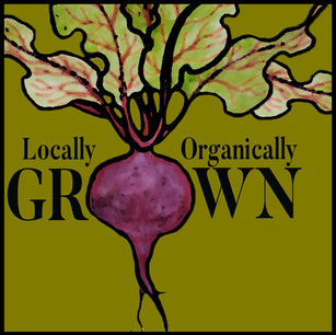 Organically Grown lable