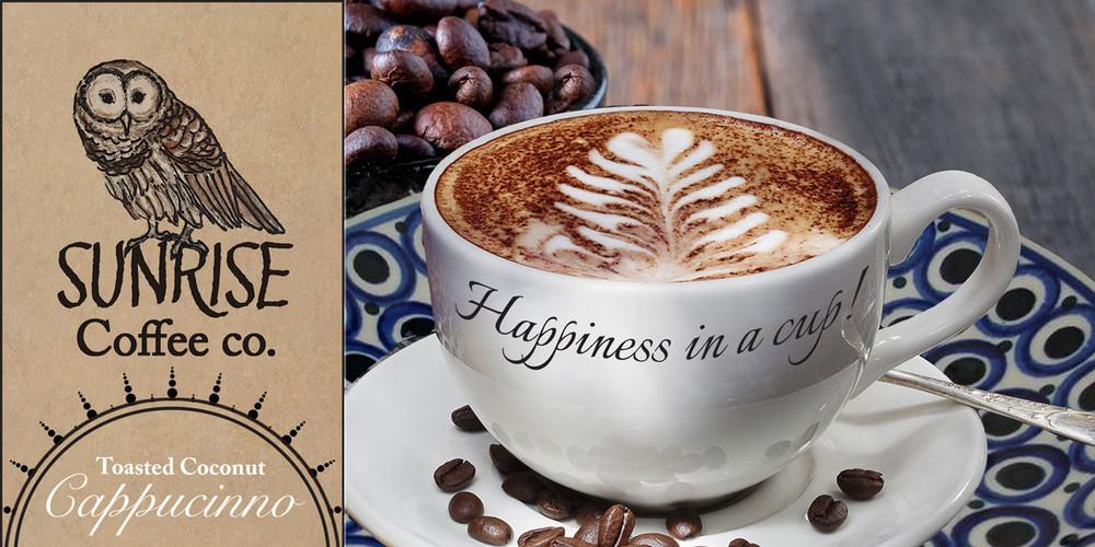 SUNRISE COFFEE AD