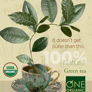 ONE Organic ad