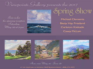 Spring Show at Viewpoints Gallery