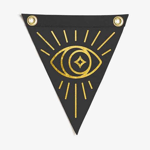 Eye Mini Flag  - The Rise And Fall