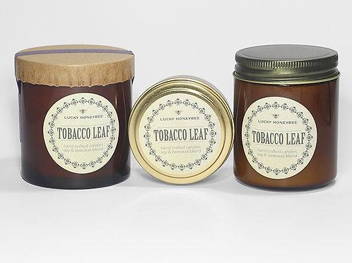 Tobacco Leaf Candle