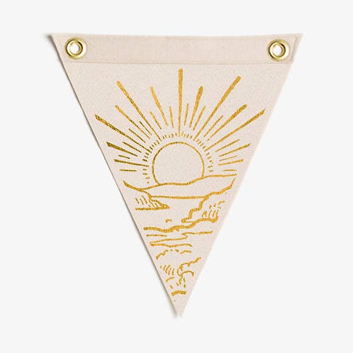 Sunrise Mini Flag - The Rise And Fall