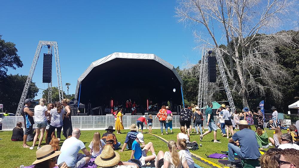 IT Festival 2018, D.A.S Audio NZ, Aero20a