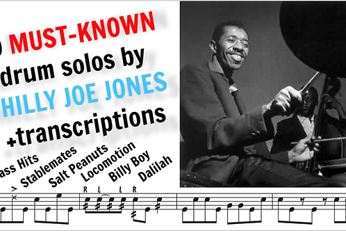 10 Must Known drum solos by Philly Joe Jones
