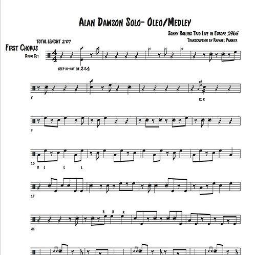 "Transcription: Alan Dawson on ""Oleo"""