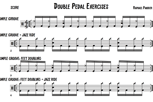 Double Pedal Workout