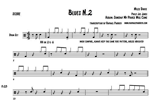 Transcription: Philly Joe Jones Blues N.2
