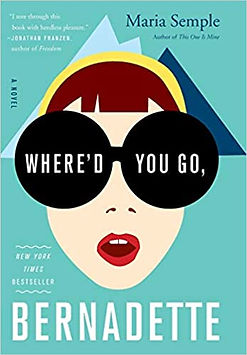 Where'd You Go Bernadetter Book Cover.jp