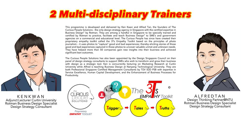 2 Multi-disciplinary Trainers  (landscap