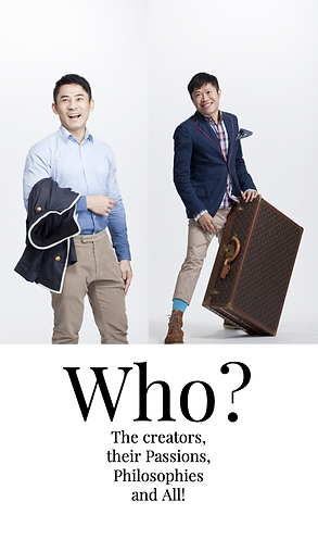 Who? The creators, their Passions, Philosophies and All!