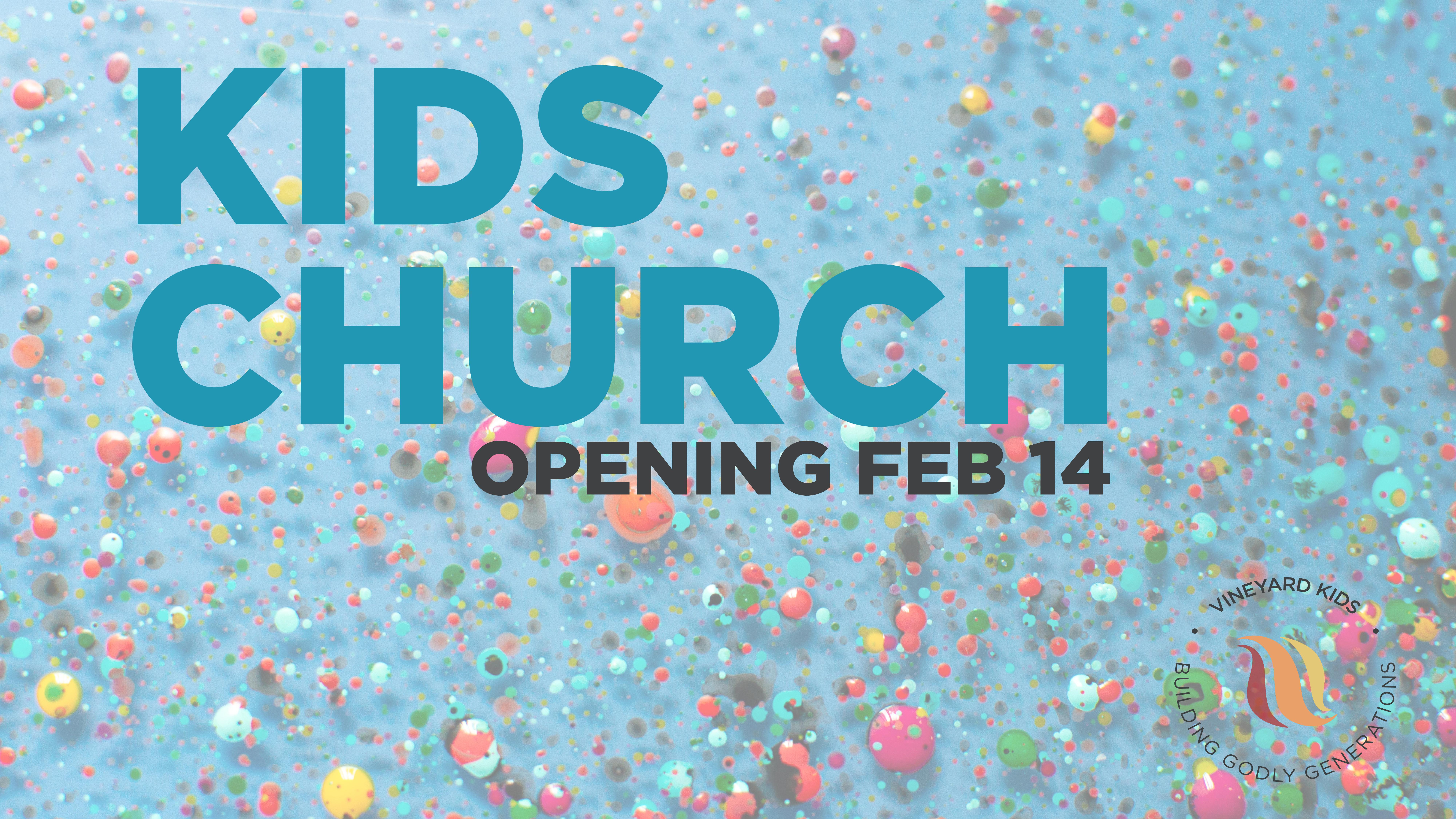 Kids Church open