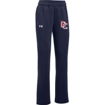UA Women's Hustle Fleece Pants