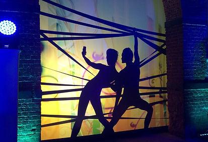 Интерктив в театре теней, фоновое сопровождение в концепции театра теней