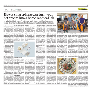 How a Smartphone Can Turn Your Bathroom Into a Home Medical Lab