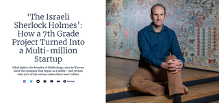 'The Israeli Sherlock Holmes': How a 7th Grade Project Turned Into a Multi-million Startup