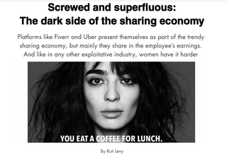 Screwed and superfluous: The dark side of the sharing economy