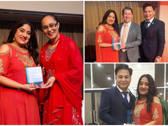 Special Commemoration Award for exceptional services to Communities won by Ashima Singh