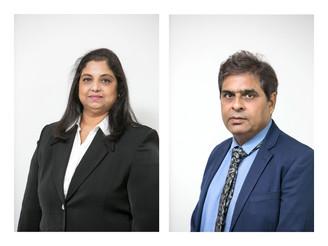 Congratulations Shyama Sharma & Dilkhush Surani on 5 Years with Legal Associates