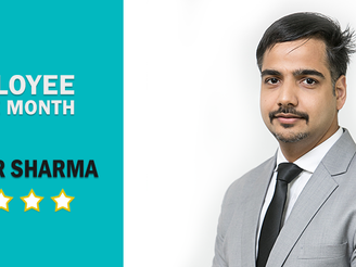 EMPLOYEE OF THE MONTH: Chander Sharma | Nov 2018