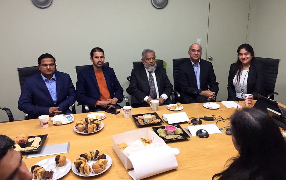 Honorary Consul of Bangladesh meets Legal Associates team
