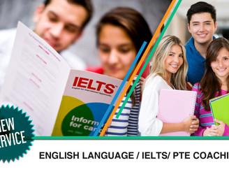 English Language / IELTS/ PTE Coaching