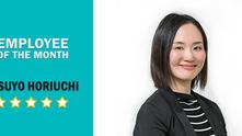 EMPLOYEE OF THE MONTH: Yasuyo Horiuchi | March 2019