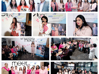Pink Ribbon Breakfast, Afternoon Tea hosted by Ashima Singh