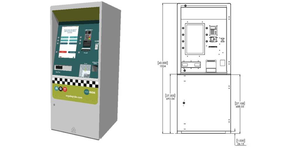 TICKETING VENDING MACHINE