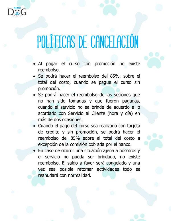 Politicas-de-cancelación-modest-dog-adi