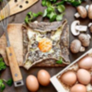 Les galettes bretonnes _ un des plats co