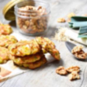 Cookies de poireaux au parmesan _ si vou