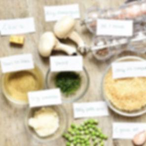 Le risotto aux champignons du joli compt