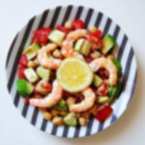 Une de mes salades composées préférée de