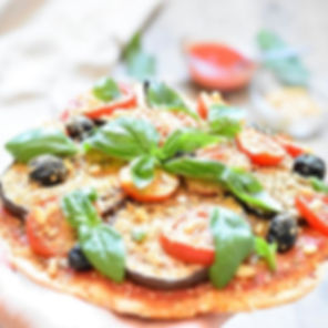 Pizza légère sans fromage (#vegan) mais