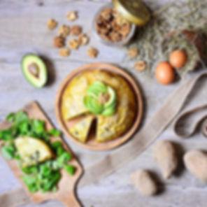 Tortilla au four fourrée au poireau 😍 L