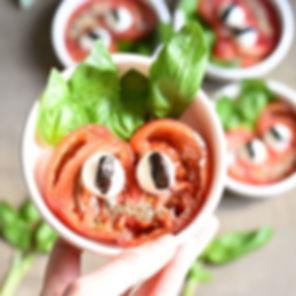J'ai décidé de publier l'apéro tomate mo