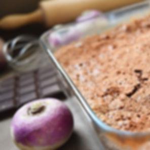 Gâteau au chocolat et au navet ! C'est l