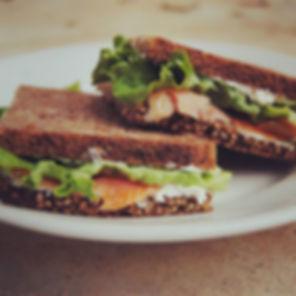 Sandwich healthy au pain complet 3 céréa