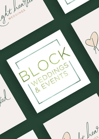 Right Hearted Weddings / Block Weddings & Events